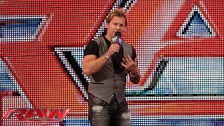 Chris Jericho confronts The Authority: Raw, July 28, 2014