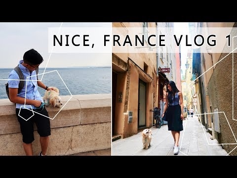 NICE, FRANCE VLOG 1 |  Exploring Vieux Nice (Old Town)