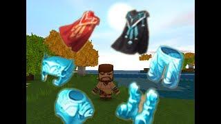 Mini world# 10: Hướng dẫn làm áo choàng và giáp kim cương