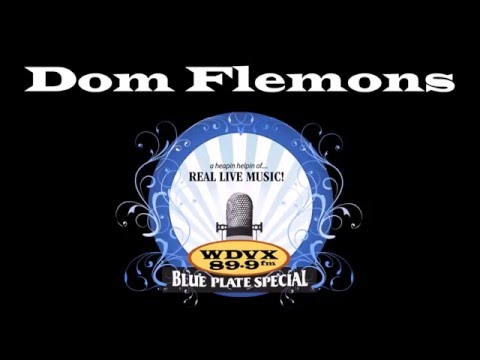 Dom Flemons on the WDVX Blue Plate Special