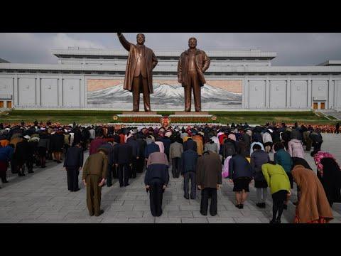 Nordkorea feiert Nationalfeiertag zu Ehren von Kim Il Sung