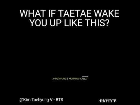 BTS V Wakeup Call/Alarm