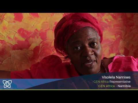 Visolela Namises of GEN Africa