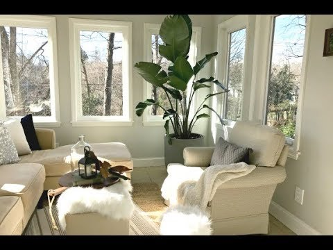 Small Sunroom Makeover with Thrifty Finds