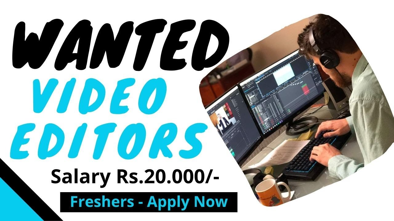 Video Editors Jobs Looking For Video Editor Jobs In 2020 Youtube