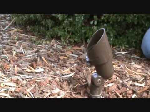 How to replace a burned out landscape spot light youtube aloadofball Images