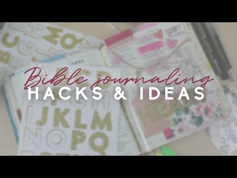 Bible journaling hacks and ideas | Doodling Faith