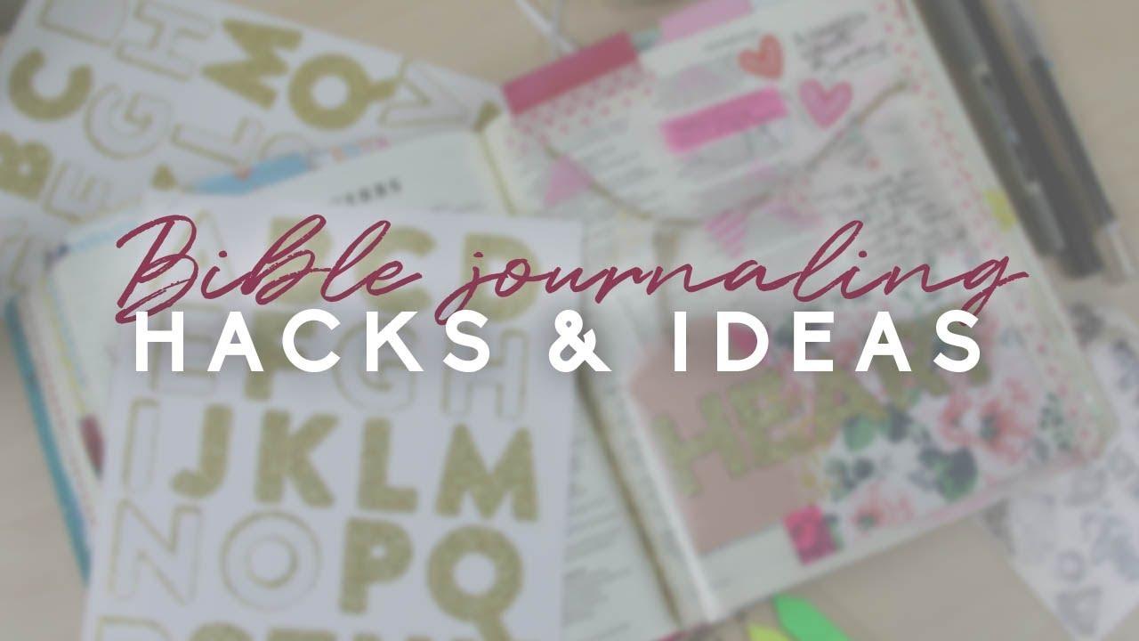 Bible journaling hacks and ideas | Doodling Faith