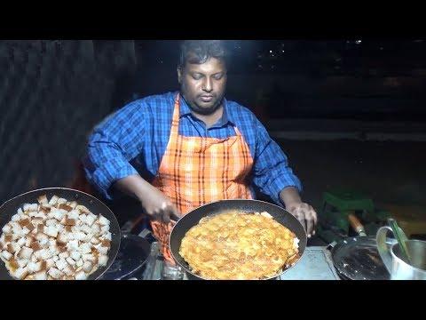 Bread Omelette Recipe | Wow Omelette Hyderabad | Breakfast & Snack Item | #FamousStreetFood