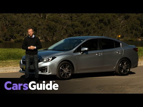 Subaru Impreza 2.0i Premium sedan 2017 review road test video