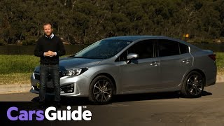 Subaru Impreza 2.0i-Premium sedan 2017 review: road test video