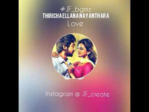 Trisha illana nayanthara / love bgm / what's app status video