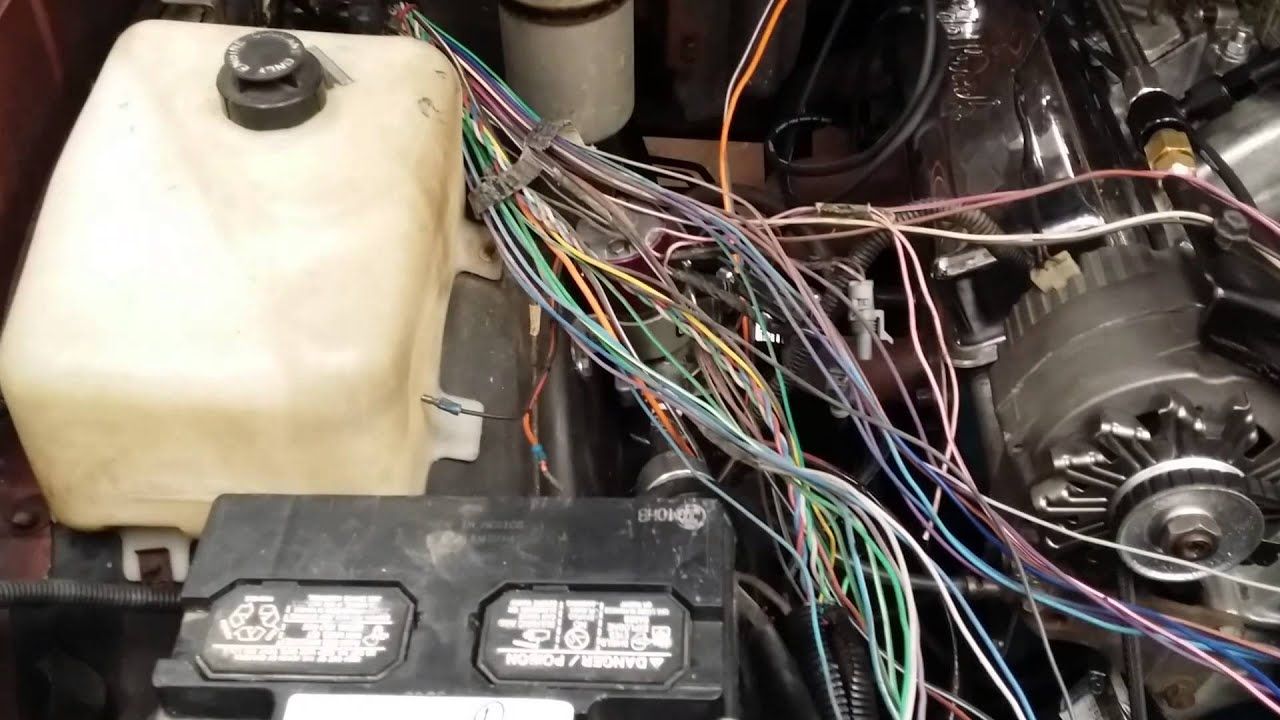1986 monte carlo vette engine wire spaghetti youtube rh youtube com monte carlo wiring harness 1984 monte carlo wiring harness
