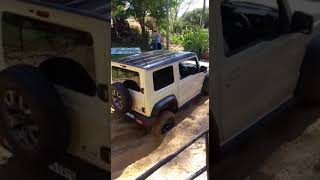 New Jimny in soft sand