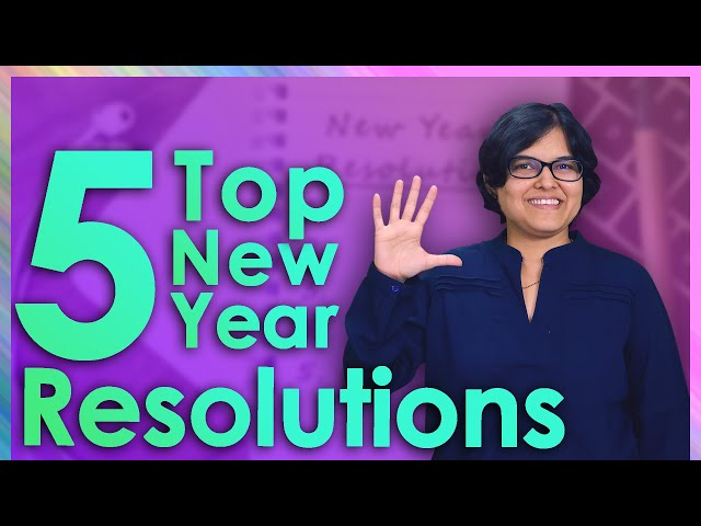 😎 Top 5 Financial Resolution For 2020 By CA Rachana Ranade   Happy New Year!