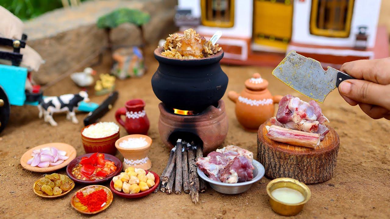 Tiny PESHAWARI CHAWAL | Pakistan Special Golden Pulao Recipe | Mutton Recipes | The Tiny Foods
