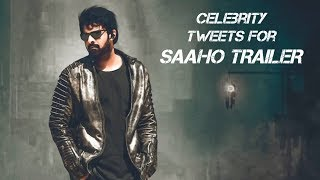 Celebrity Tweets for Saaho Trailer and Prabhas 39th Birthday | friday poster