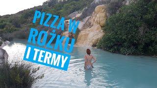Pizza w rożku?! Rzym, Toskania i ciepłe termy