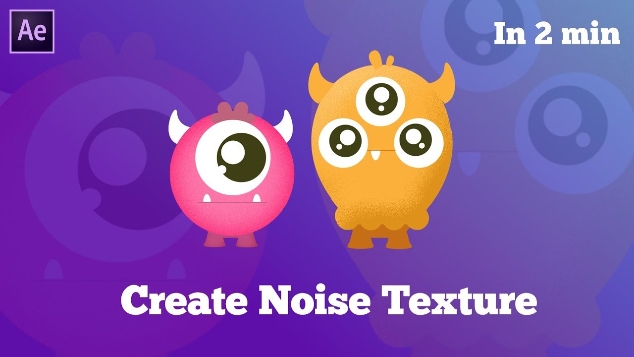 2 TRICKS to Create Noise Texture in After Effects - After Effects Tutorial