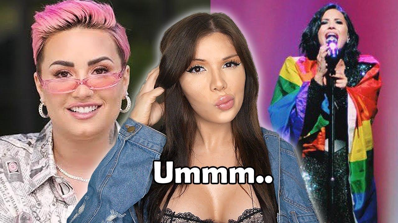 Demi Lovato: Trans or Trend Hopper?