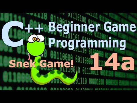Beginner C++ Game Programming DirectX [Snake Game] Tutorial 14a