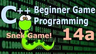 Beginner C++ Game Programming DirectX [Snake Game] Tutorial 14a