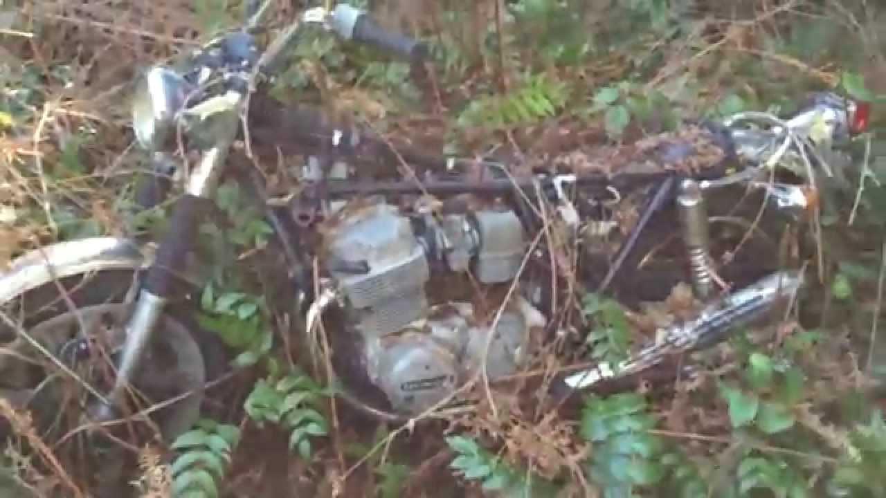 Rare Early Honda Cb750 Black Berries Find