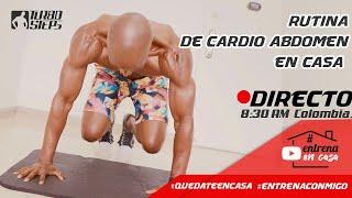 RUTINA DE CARDIO ABDOMEN EN CASA