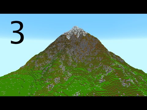 Minecraft Mountain Project | Part 3