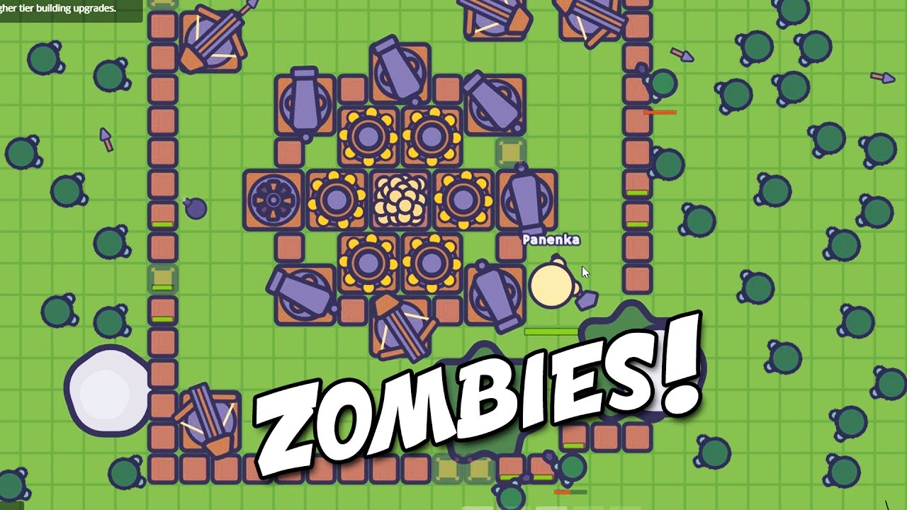 Zombs.io Epic Zombie Fortress Defense! (Zombs.io New io Gameplay ...