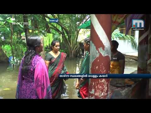Low lying area in Kochi flooded due to rains|Mahtrubhumi News