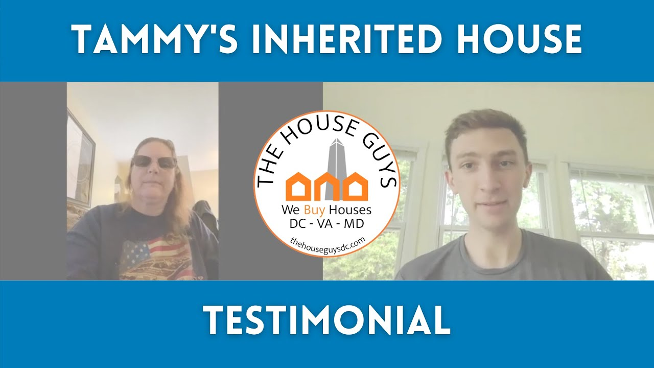 How Tammy Sold Her Inherited Property | Sterling, VA Testimonial