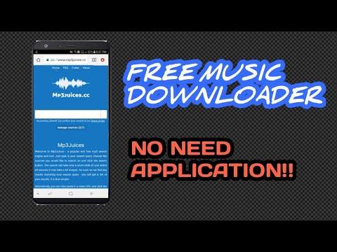 FREE MUSIC DOWNLOADER | NO NEED APP