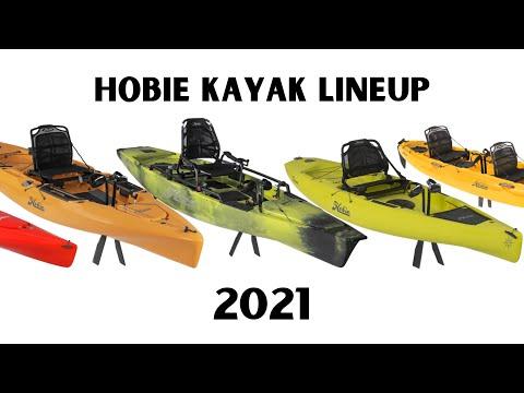 2021 Hobie Mirage Pedal Drive Kayak Line Up & Overview