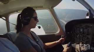 My first flying lesson!
