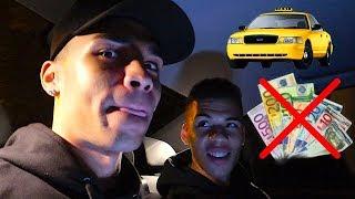 SOLANGE TAXI FAHREN BIS WIR RAUSGESCHMISSEN WERDEN (OHNE GELD) !!! | Kelvin und Marvin