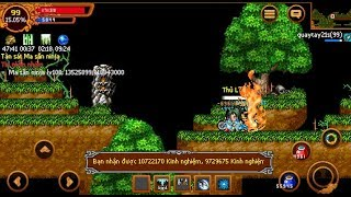 Ninja School Online : Trùm Kunai lv99 Full 16 Úp Lv Được x6 Kinh Nghiệm Chém Quái Tê Tê