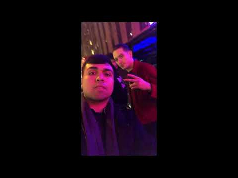 Meeting G Eazy in New York after concert at Radio City