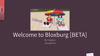 Visite de la maison Barbie!! Bloxburg Roblox