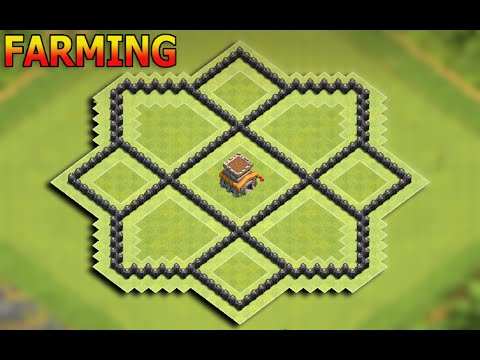 Clash of Clans Town Hall 8 (Th8) Farming base New Update 2016