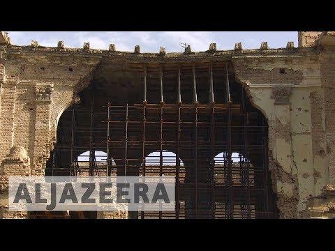 Historic Afghanistan palace undergoes restoration