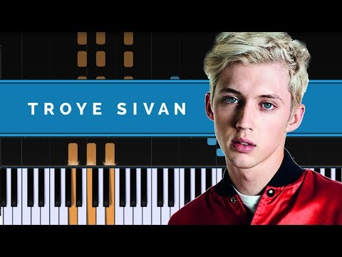 """Troye Sivan - """"Bloom"""" Piano Tutorial - Chords - How To Play - Cover"""