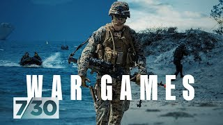 Massive war games prepare for possible superpower showdown in our region | 7.30