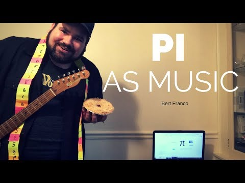 Pi as Music (Surf Style)