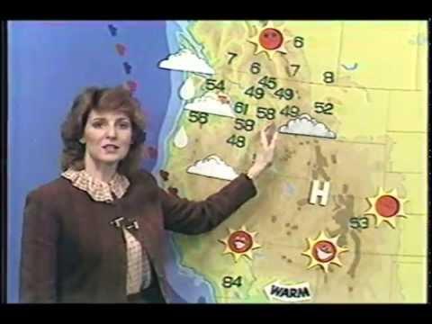 1983 KXLY-TV Weather with Toni Boggan