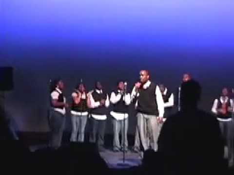 Wayne State University Gospel Chorale College Night 2008 - Wayne County Community College District Gospel Choir (The Testimony)