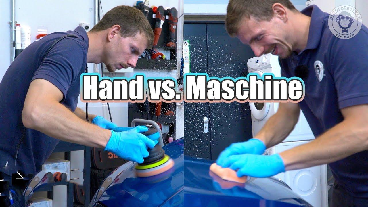 Handpolitur vs. Maschinenpolitur - lohnt sich die Maschine? I Polieren für Anfänger I AUTOLACKAFFEN