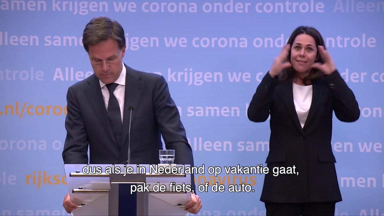 Statement Premier Rutte Over De Aanpak Van De Coronacrisis