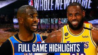Okc Thunder Vs La Lakers   Full Game Highlights | 2019 20 Nba Season