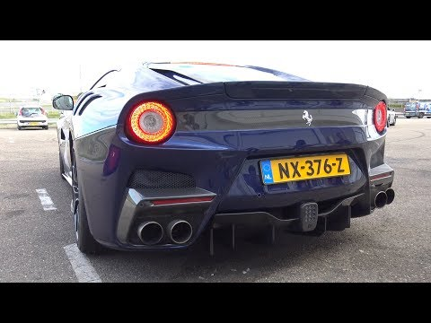 Ferrari F12 TDF 6.3 liter V12 - Lovely Sounds!